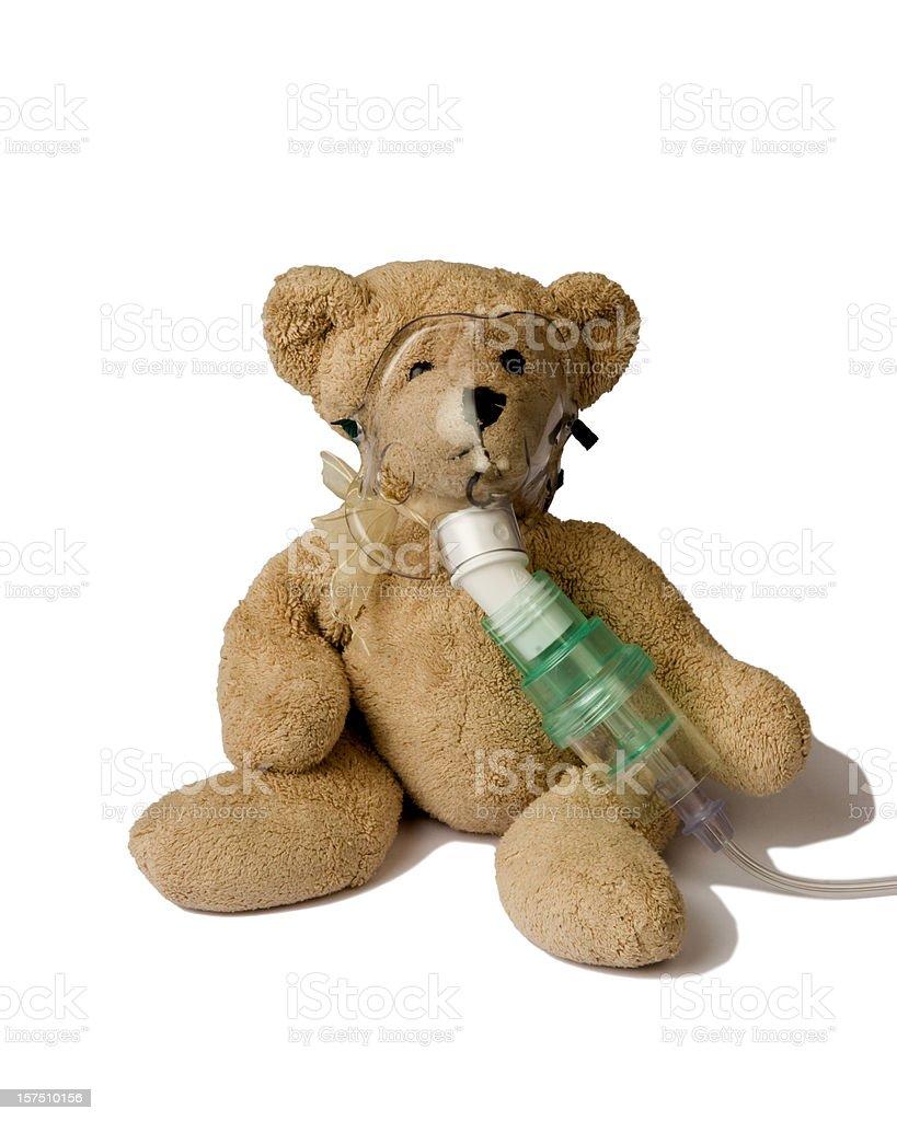 Teddy Bear in a Hospital royalty-free stock photo