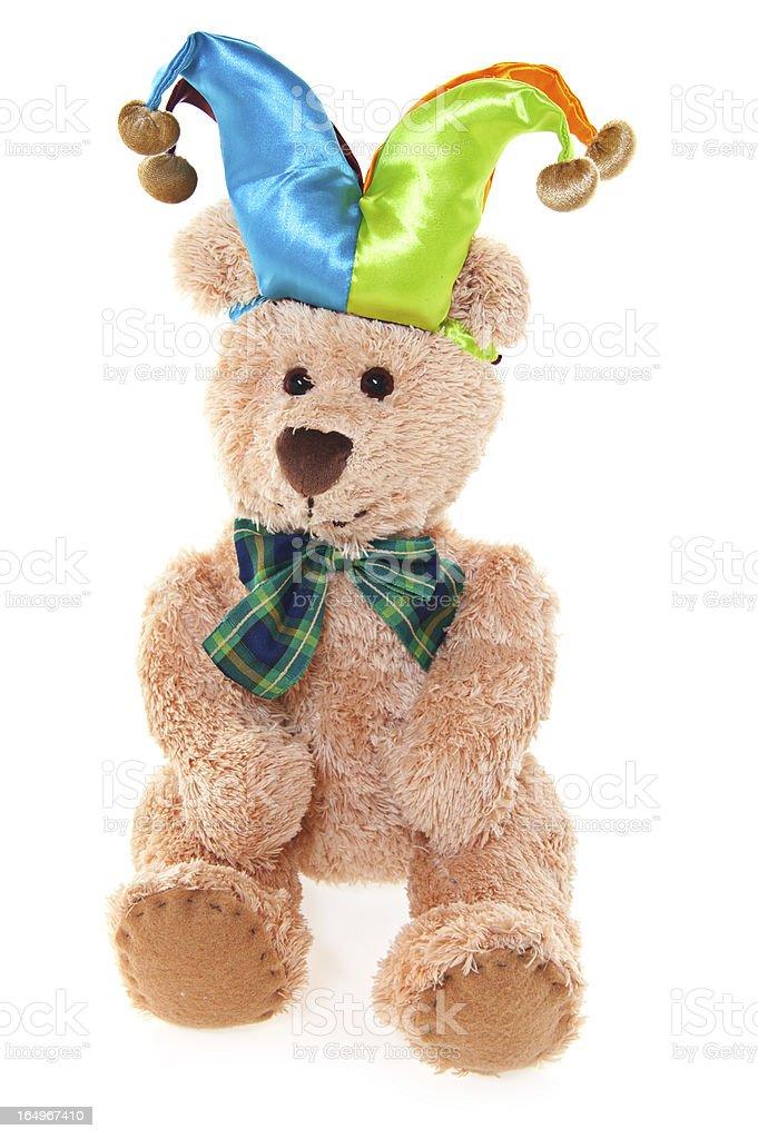 Teddy Bear Jester royalty-free stock photo