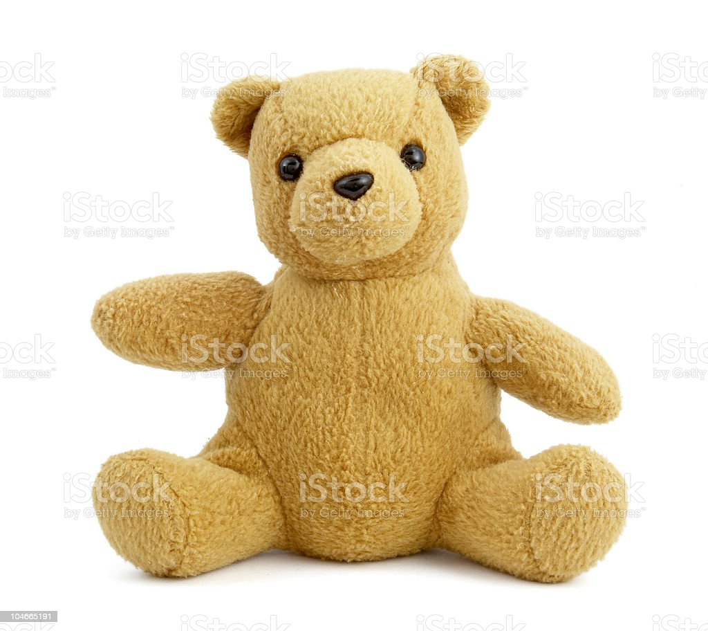 teddy bear toy childhood stock photo