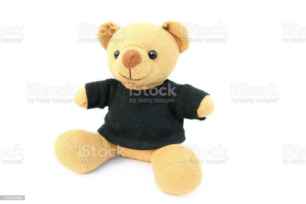 Teddy bear toy stock photo
