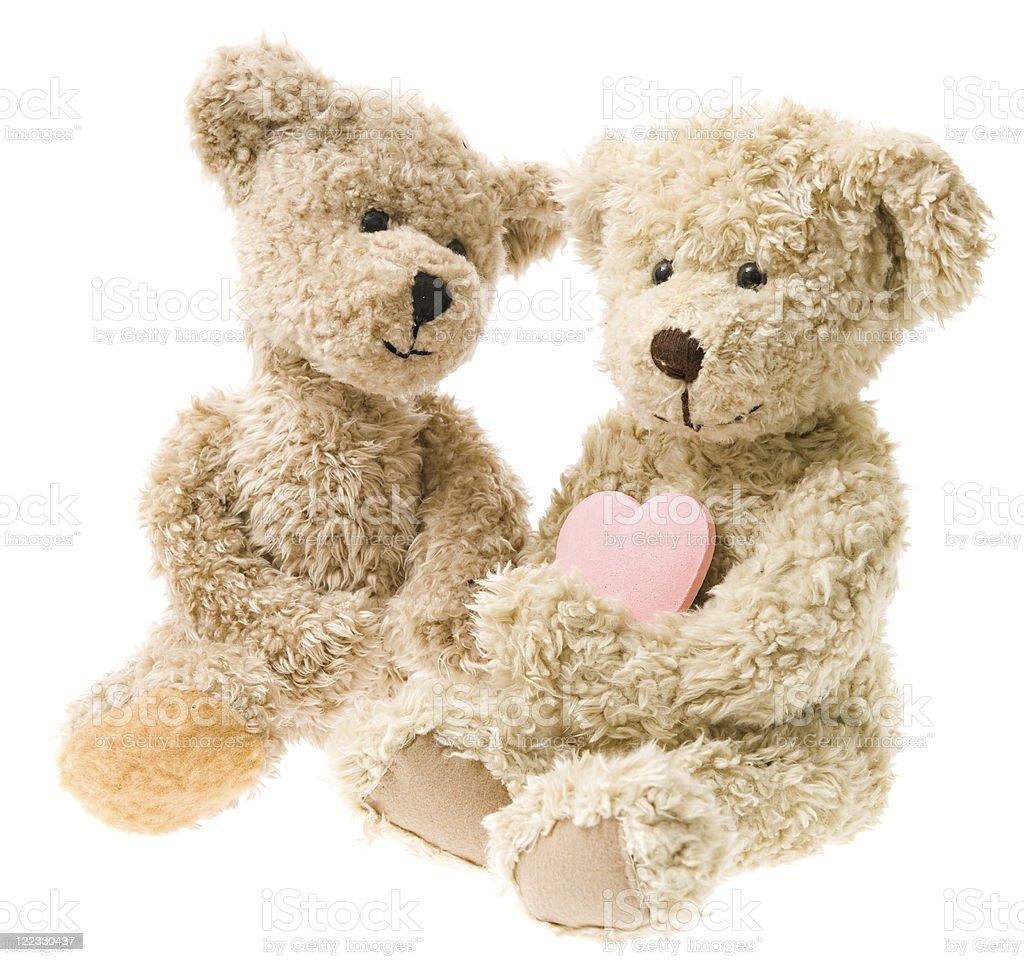 Teddy Bear Valentines royalty-free stock photo