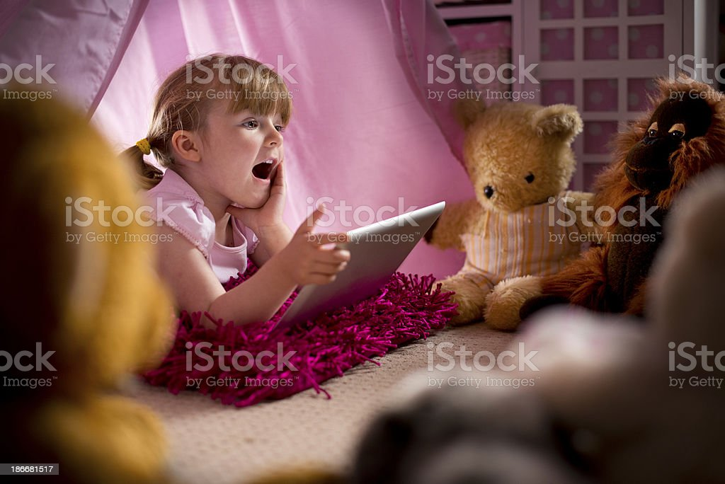 teddy story time royalty-free stock photo