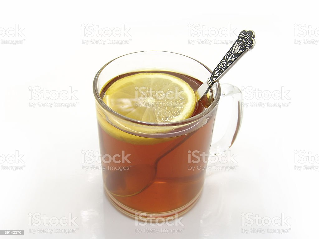tee and lemon royalty-free stock photo