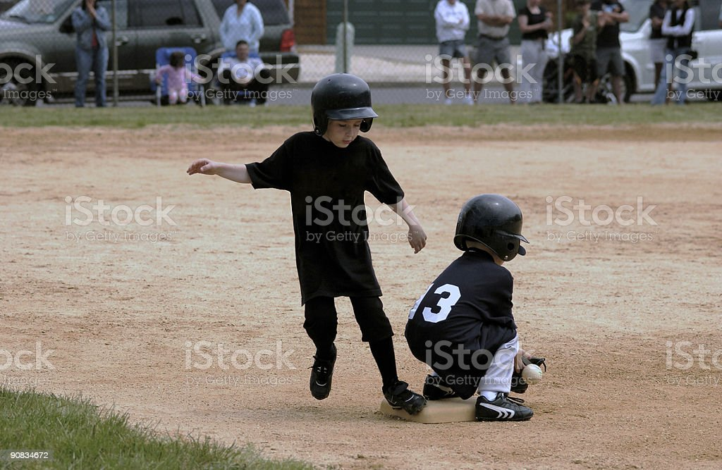 Tee Ball stock photo