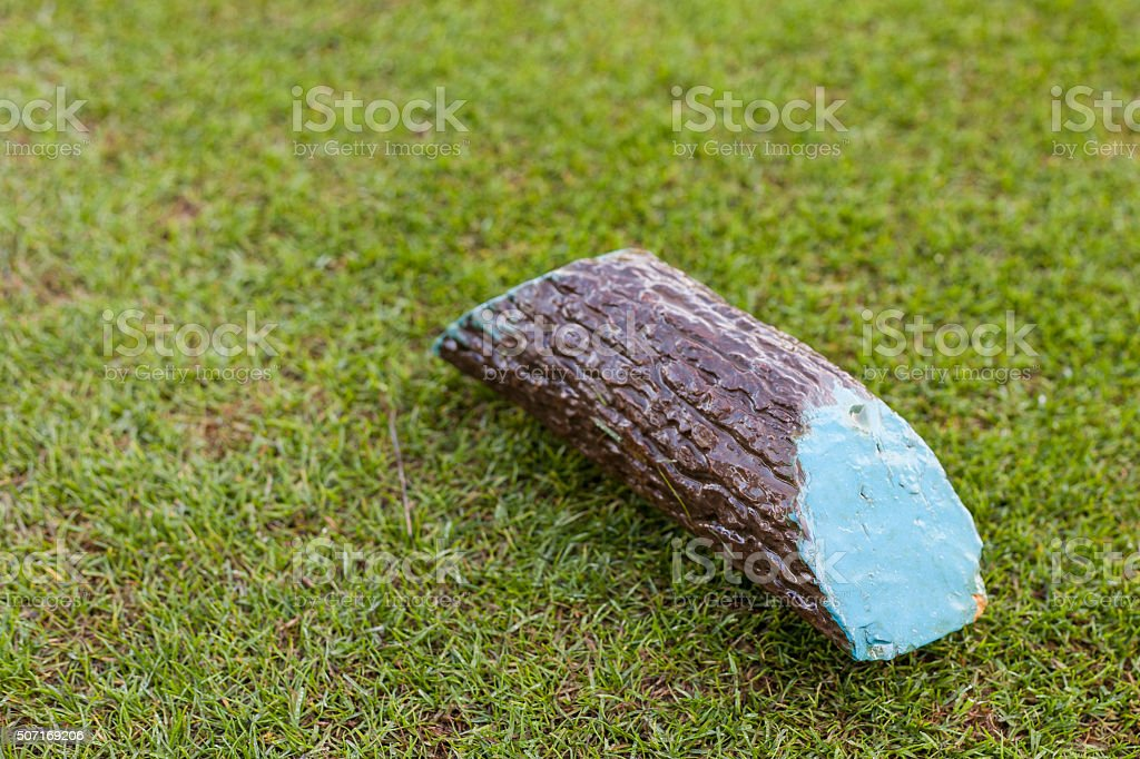 Tee marker stock photo
