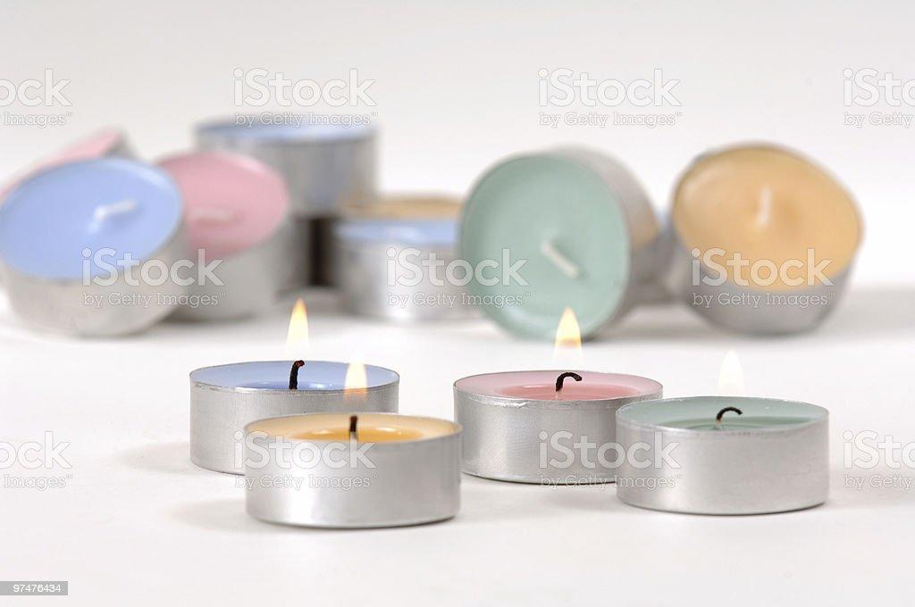 Teelicht royalty-free stock photo