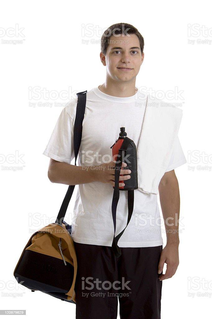 Teen Athlete stock photo