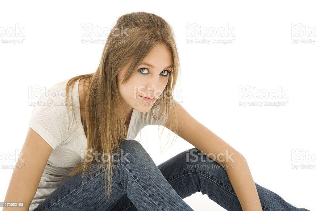 Teen Beauty royalty-free stock photo