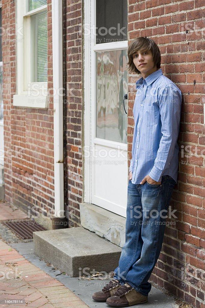 Teen chłopiec zbiór zdjęć royalty-free