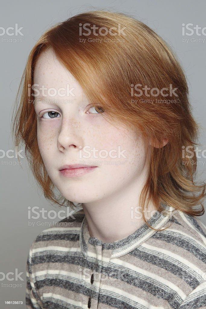 Teen boy royalty-free stock photo