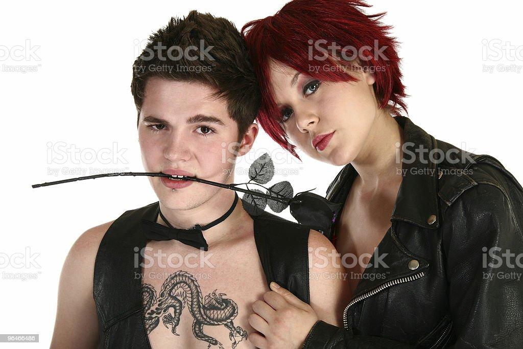 Teen Couple royalty-free stock photo