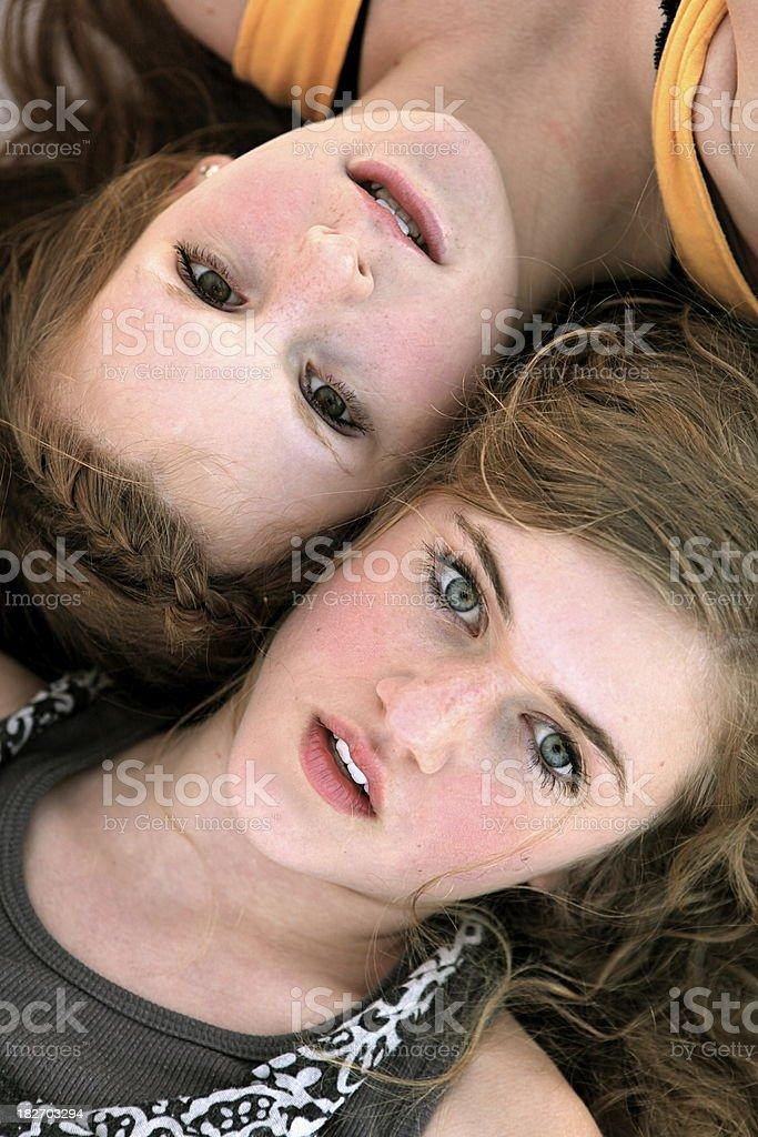 Teen Girls royalty-free stock photo