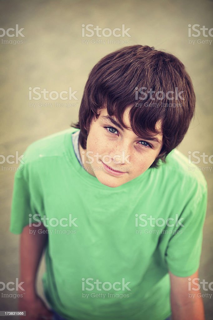 Teen royalty-free stock photo