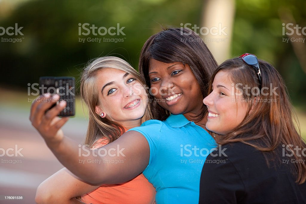 Teen Pictures royalty-free stock photo