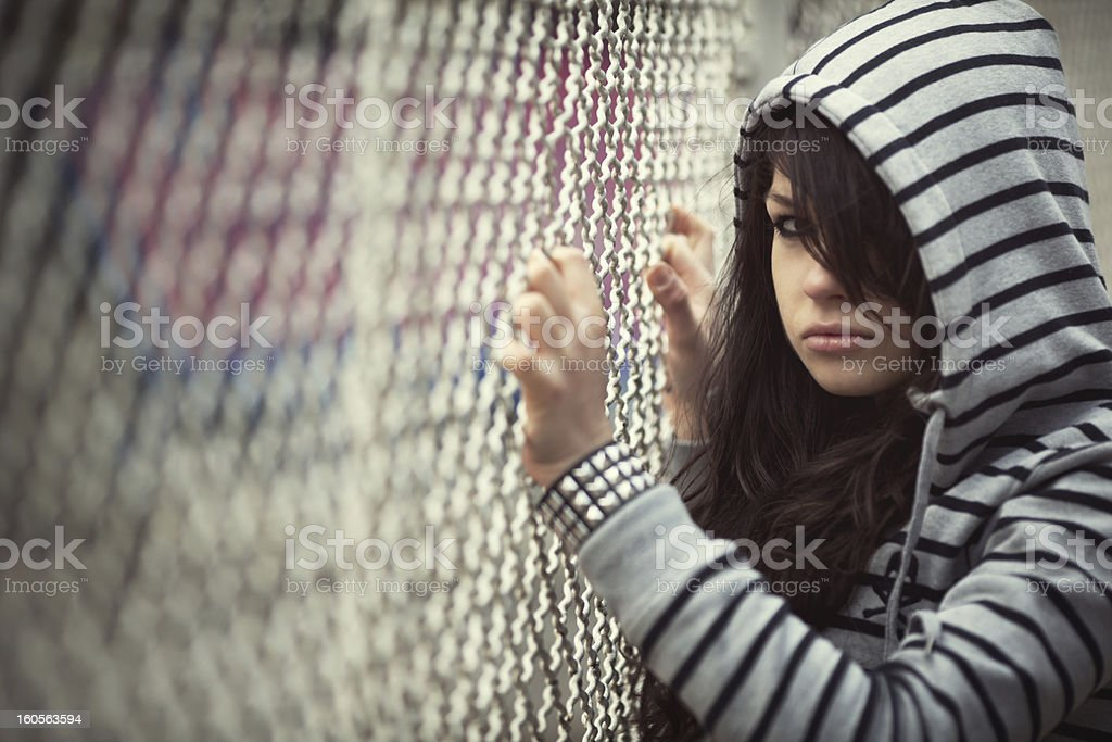 Teen Problems royalty-free stock photo