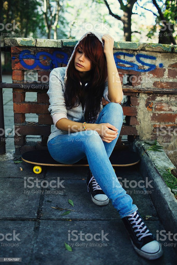 Teen Problems stock photo