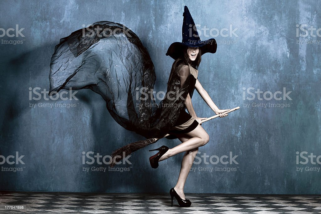 teen witch stock photo