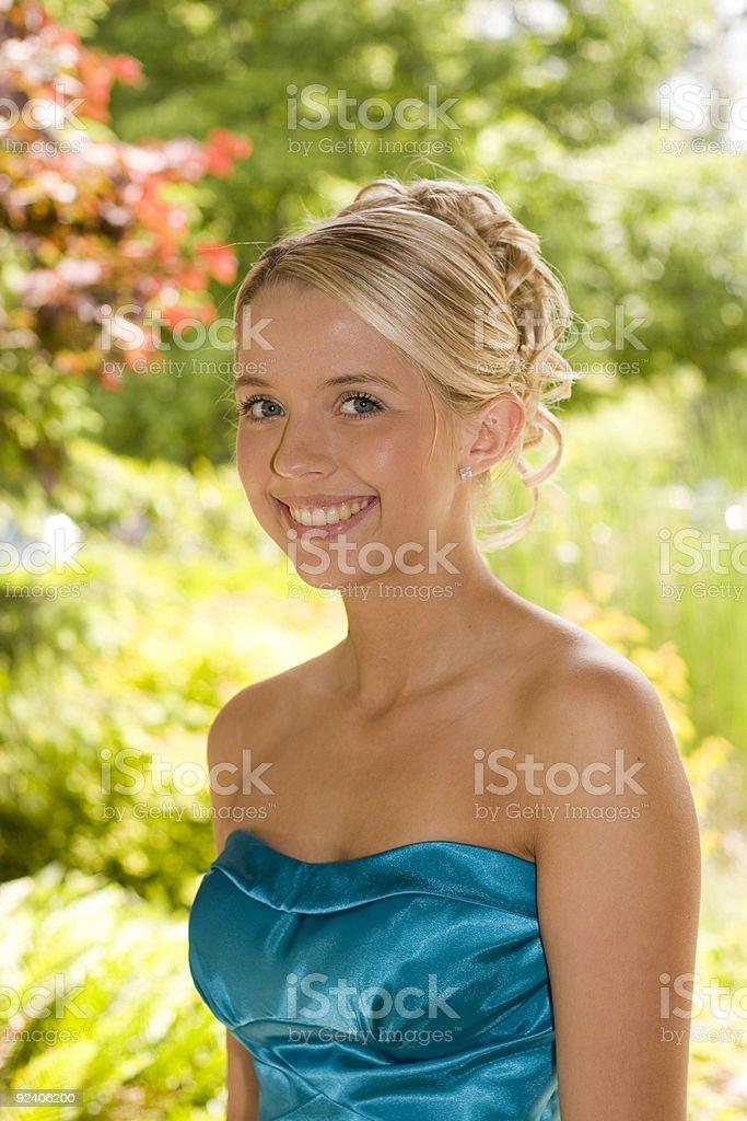 Teenage beauty royalty-free stock photo