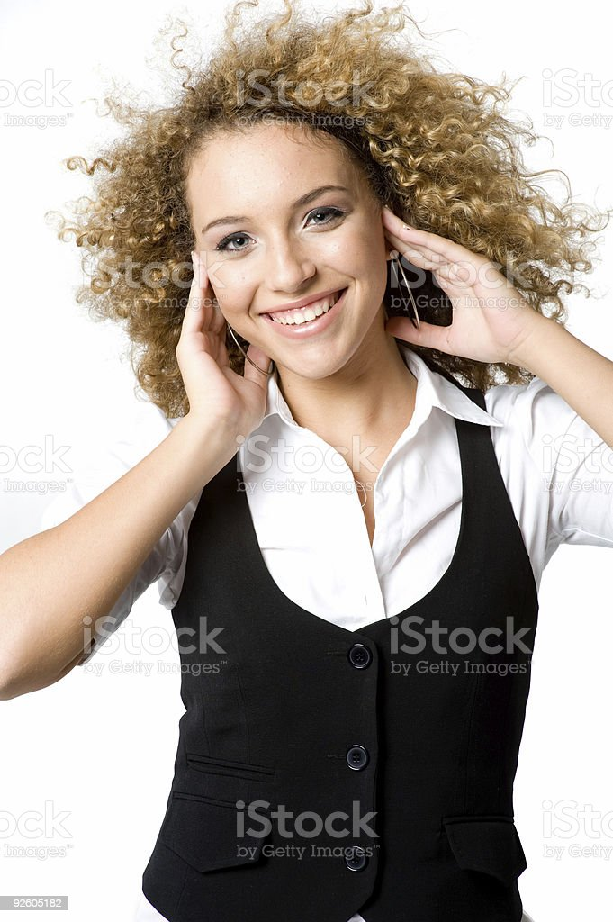 Teenage Girl stock photo