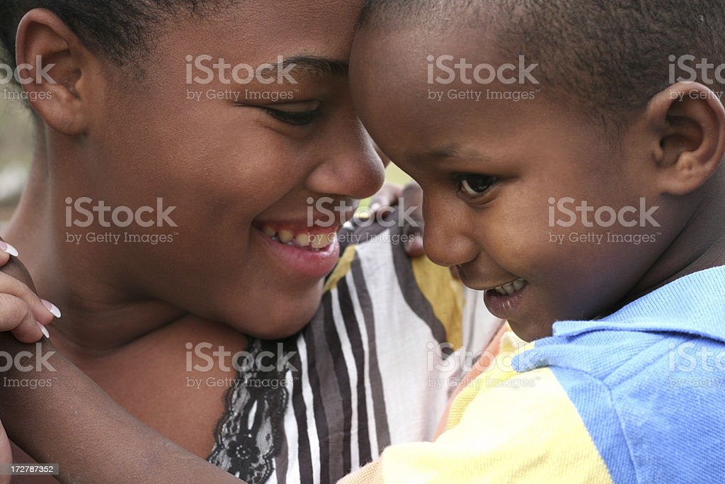 teenage mom stock photo