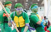 Teenage Mutant Ninja Turtles Cosplayers