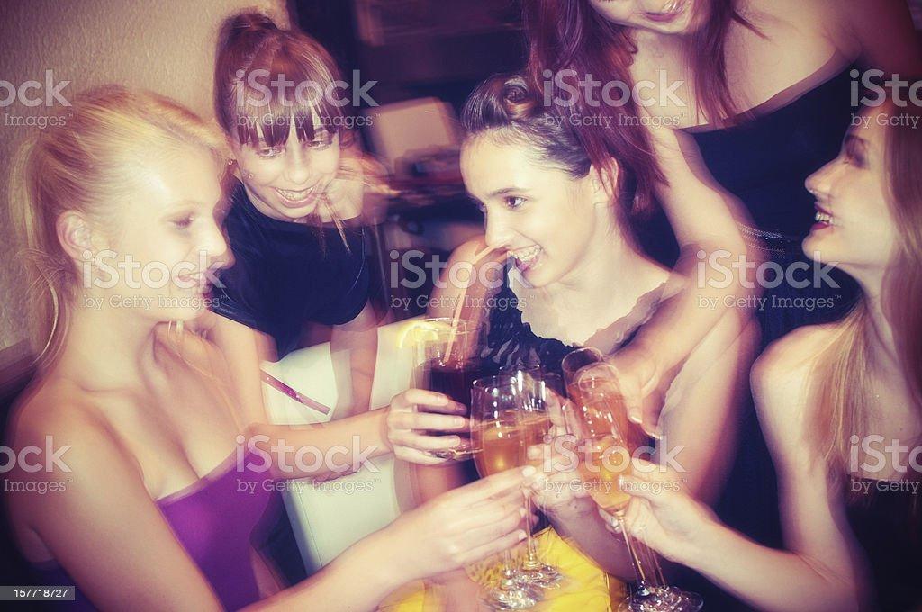Teenage Party royalty-free stock photo