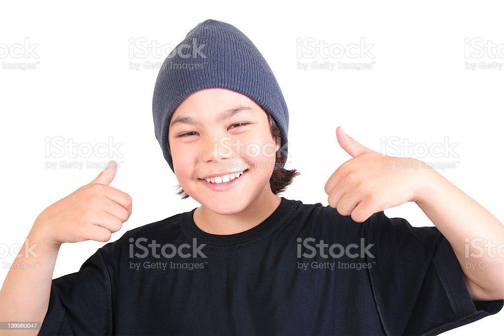 Teenage (series) royalty-free stock photo
