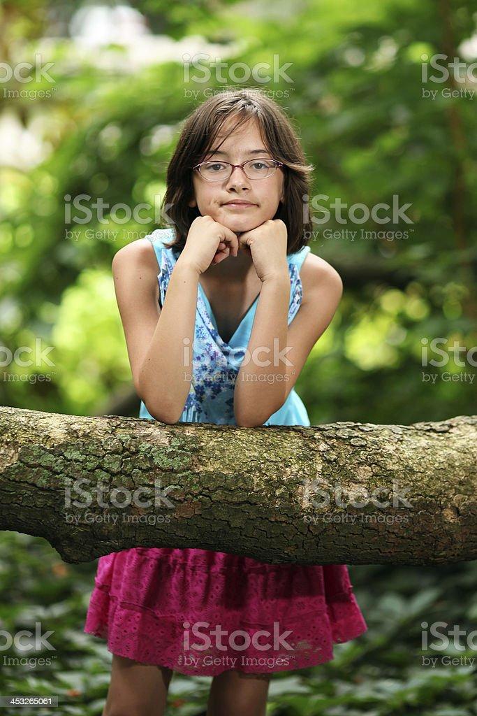 Teenage Portrait royalty-free stock photo