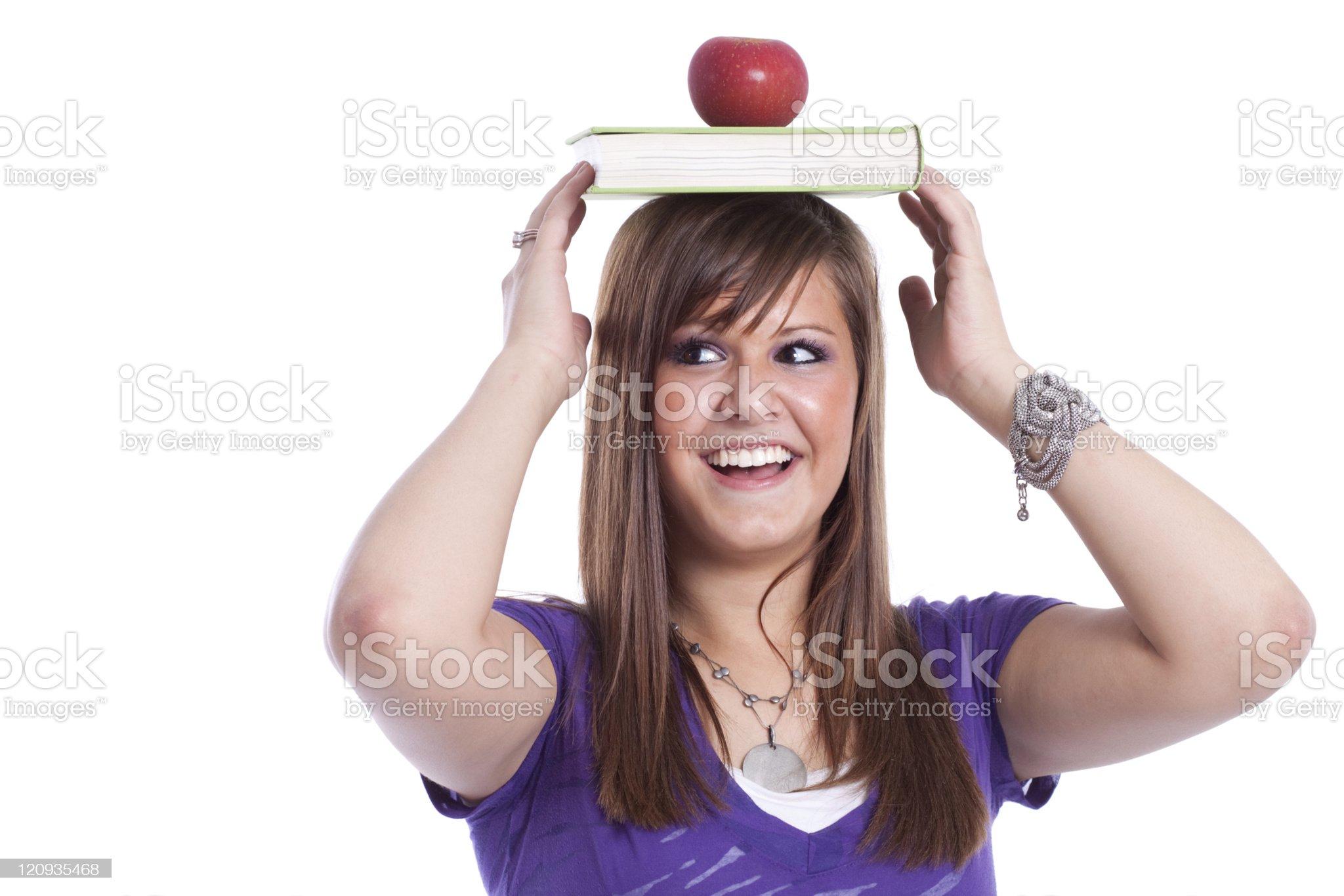 Teenage Student royalty-free stock photo