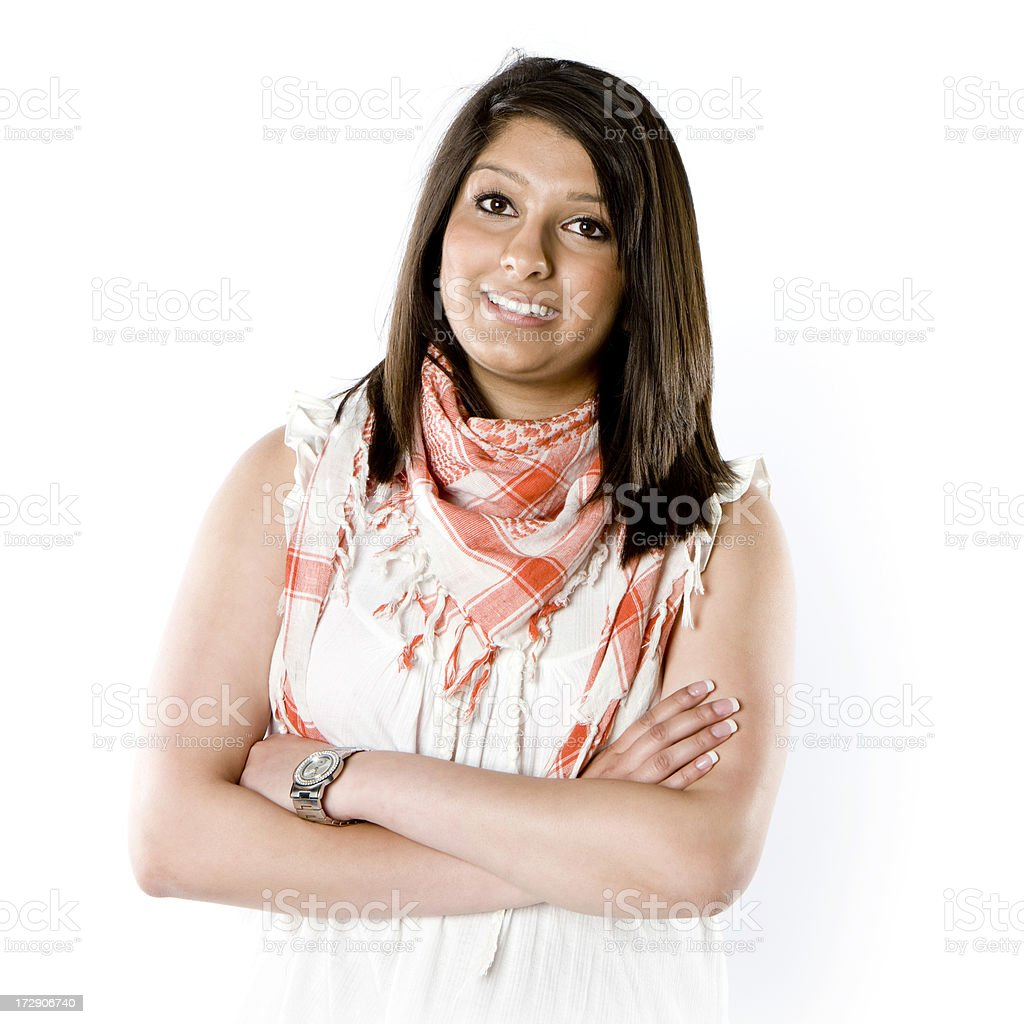 teenage students: Indian teenager royalty-free stock photo