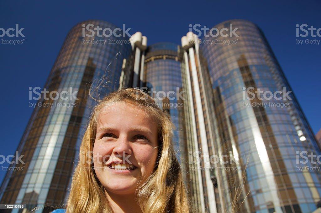 Teenager Confidence stock photo