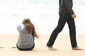 Teenager couple breaking up ending relation