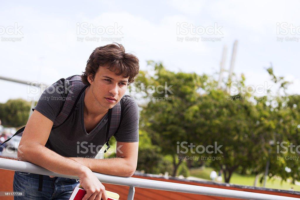 Teenager future royalty-free stock photo