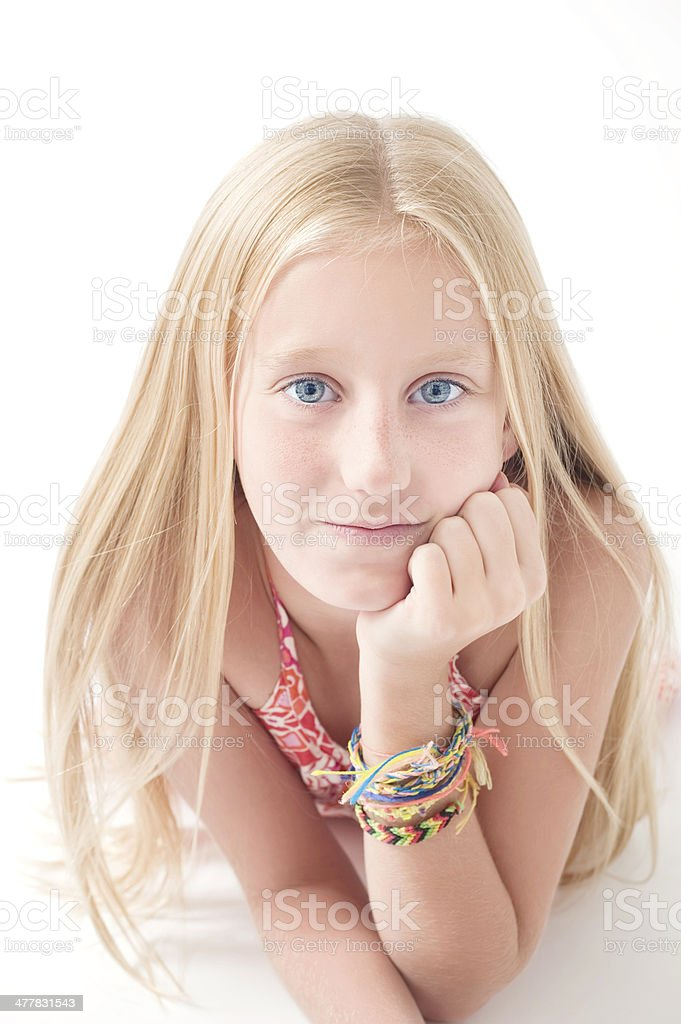 Teenager Girl royalty-free stock photo
