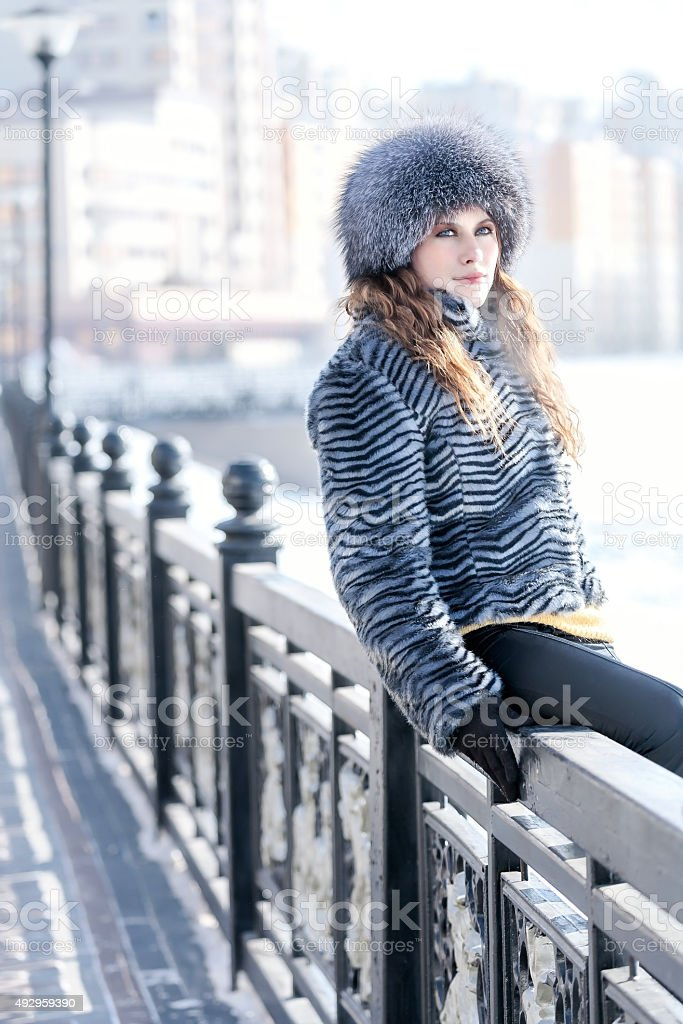Teenager: Light side of the city stock photo