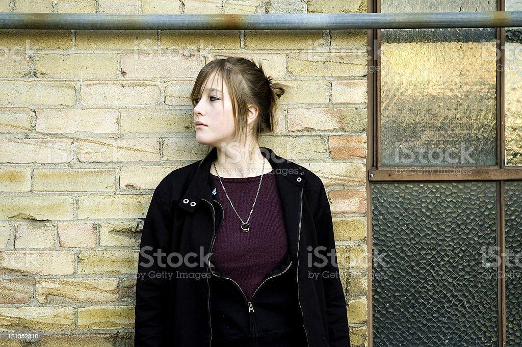 Teenager royalty-free stock photo