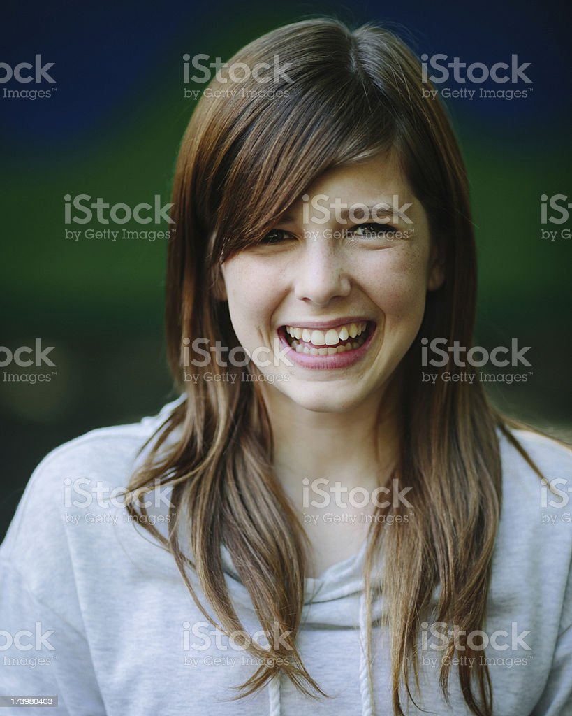 teenager portrait stock photo