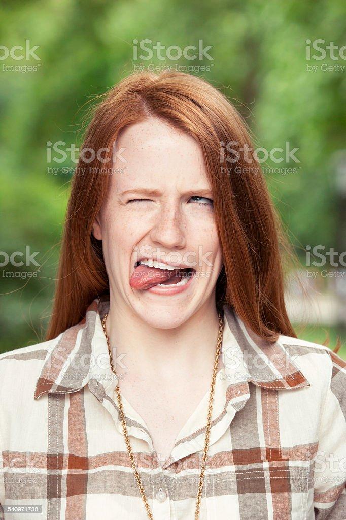 Teenager portrait stock photo