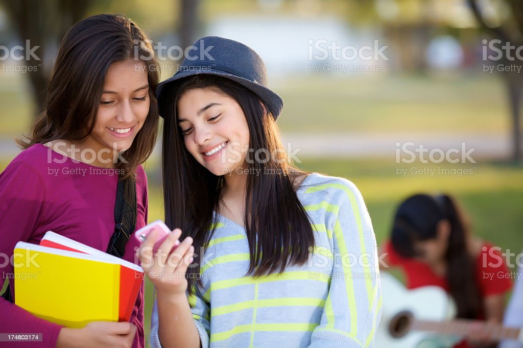 teenagers friendship royalty-free stock photo