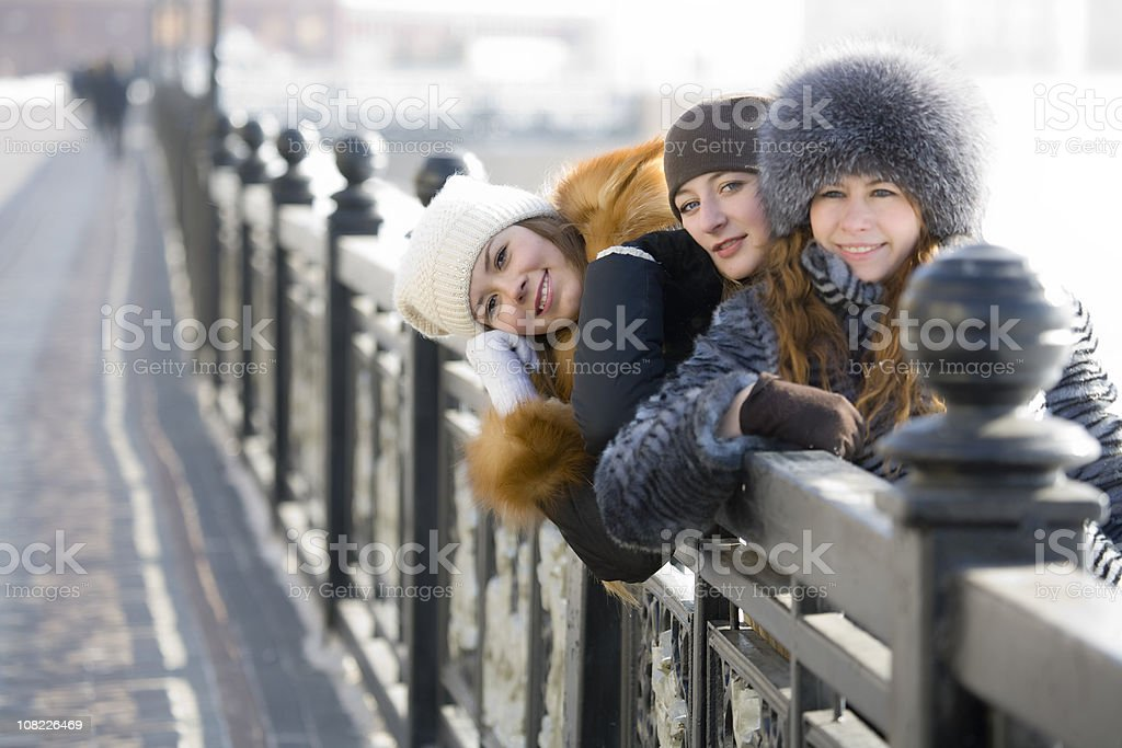Teenagers: Light side of the city royalty-free stock photo