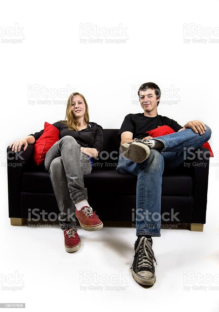 Teenagers stock photo