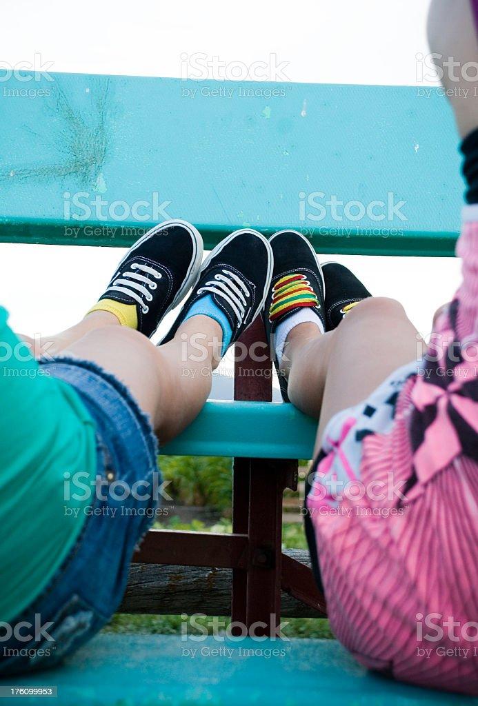 Teenagers royalty-free stock photo