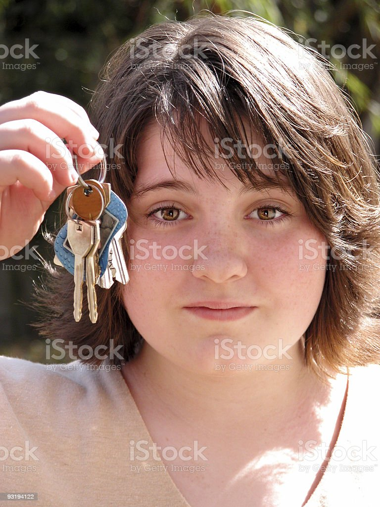 Teens:  Can I Drive Yet? royalty-free stock photo