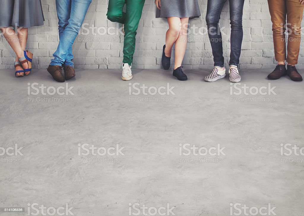 Teens Friends Hipster Fashion Trends Concept royalty-free stock photo