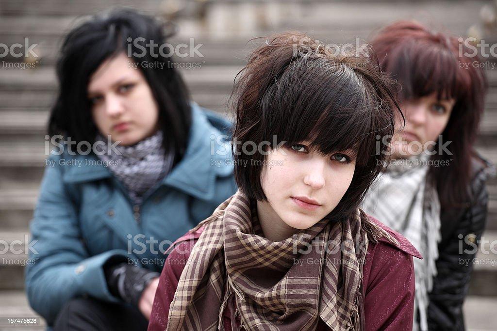 Teens royalty-free stock photo