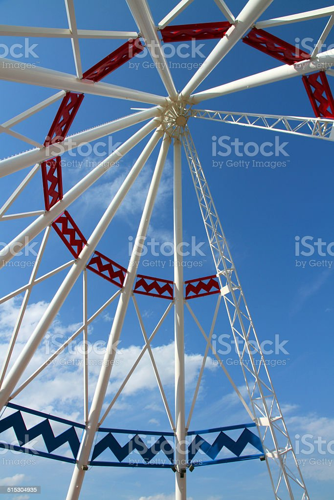 Teepee and Blue stock photo