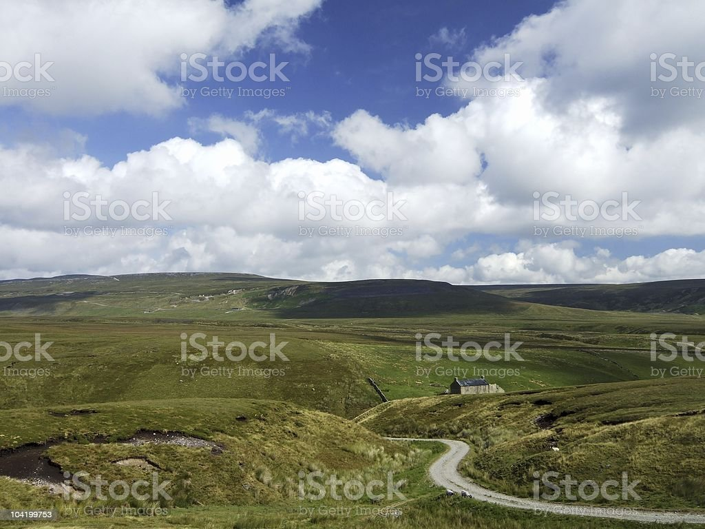 Teesdale countryside royalty-free stock photo