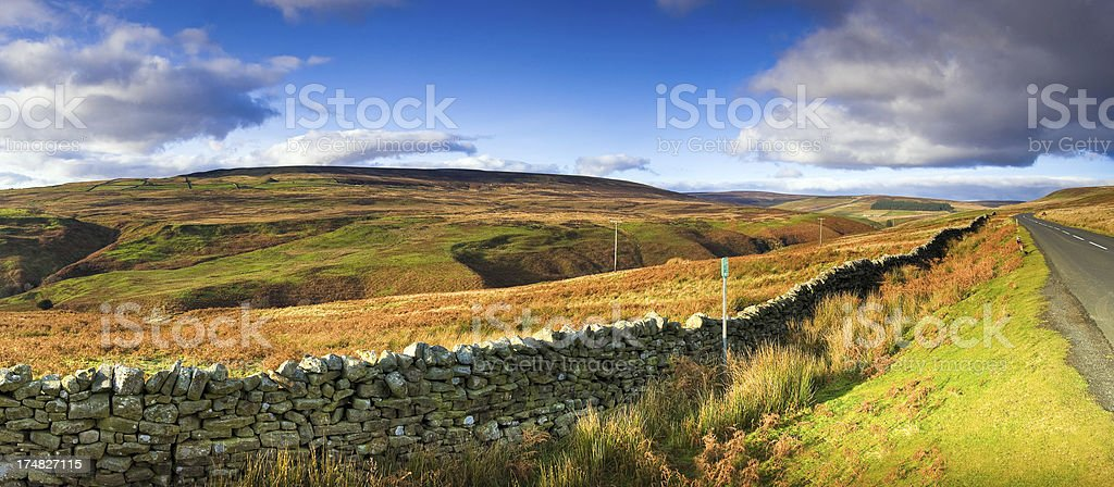Teesdale, County Durham, UK royalty-free stock photo