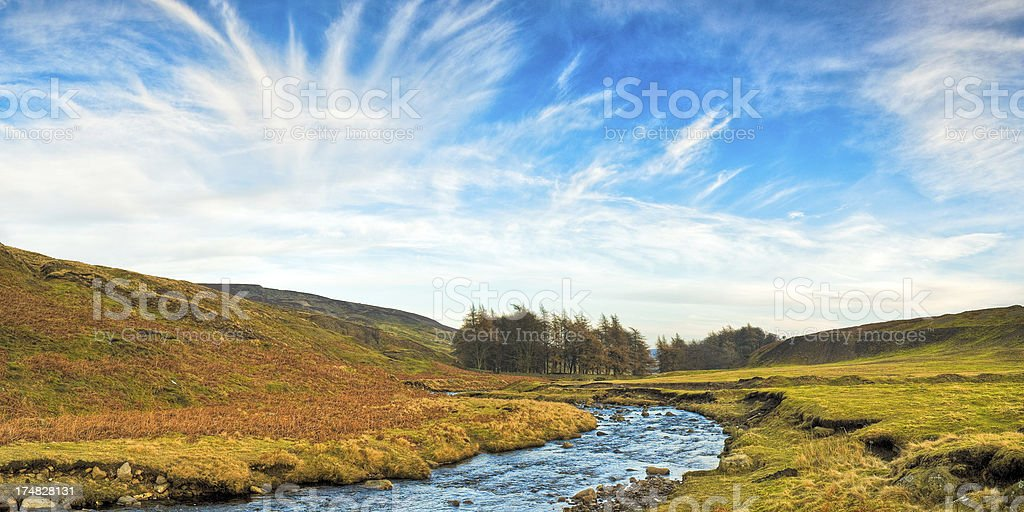 Teesdale, County Durham, UK stock photo