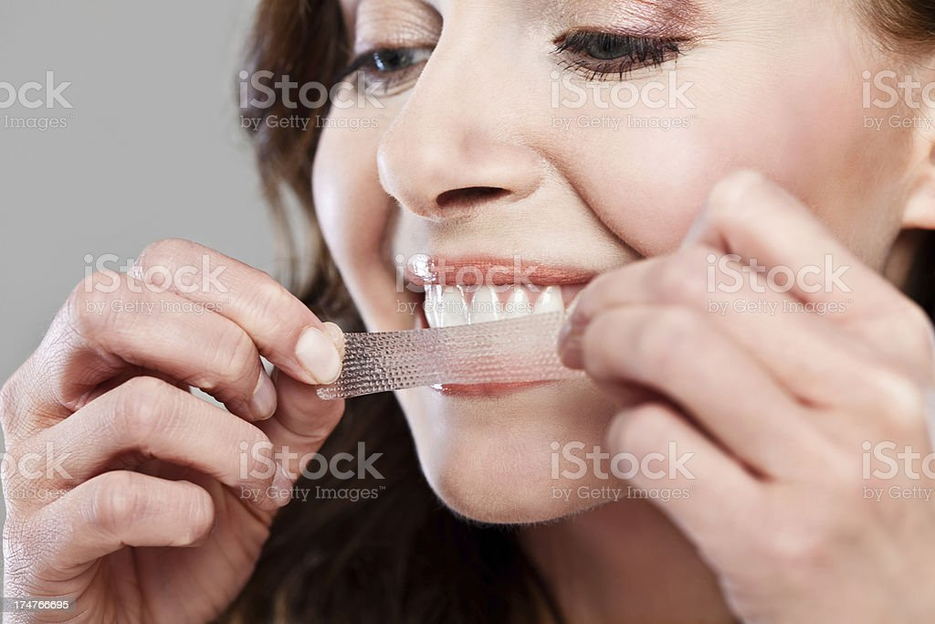 Teeth whitening stock photo